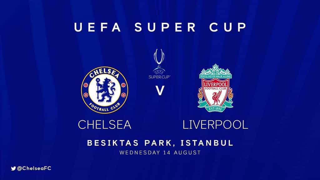 ตั๋วดูฟุตบอล uefa super cup 2019