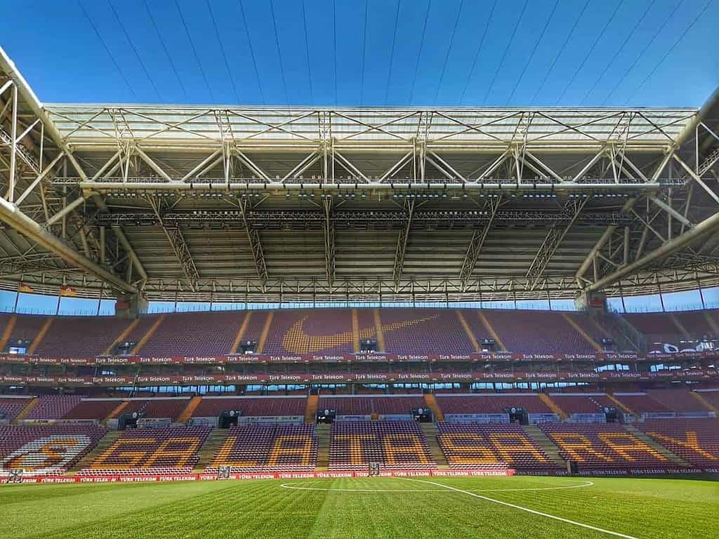 ทัวร์สนามฟุตบอล turk telekom ของกาลาตาซาราย