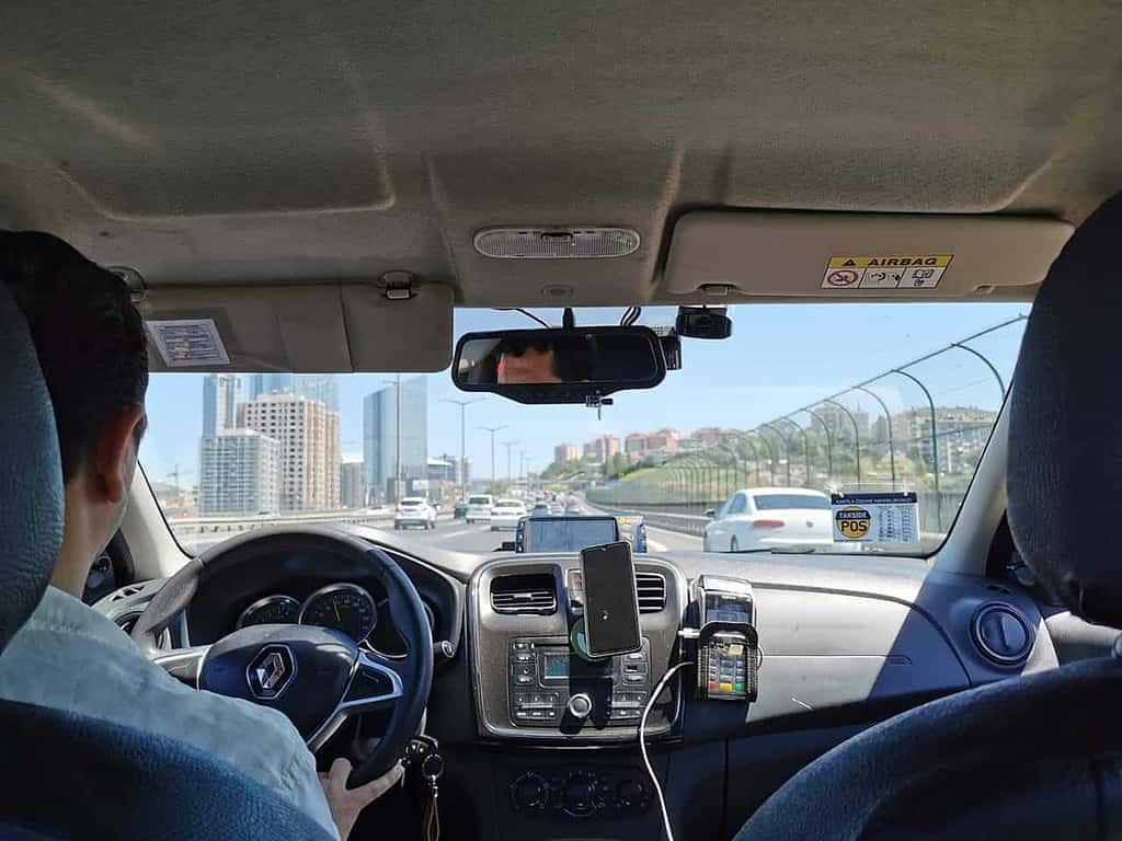 นั่ง taxi ตุรกี