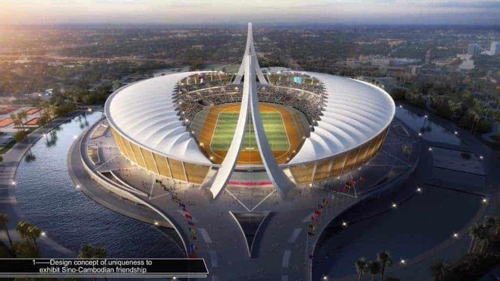 สนาม Morodok Techo National Sports Complex