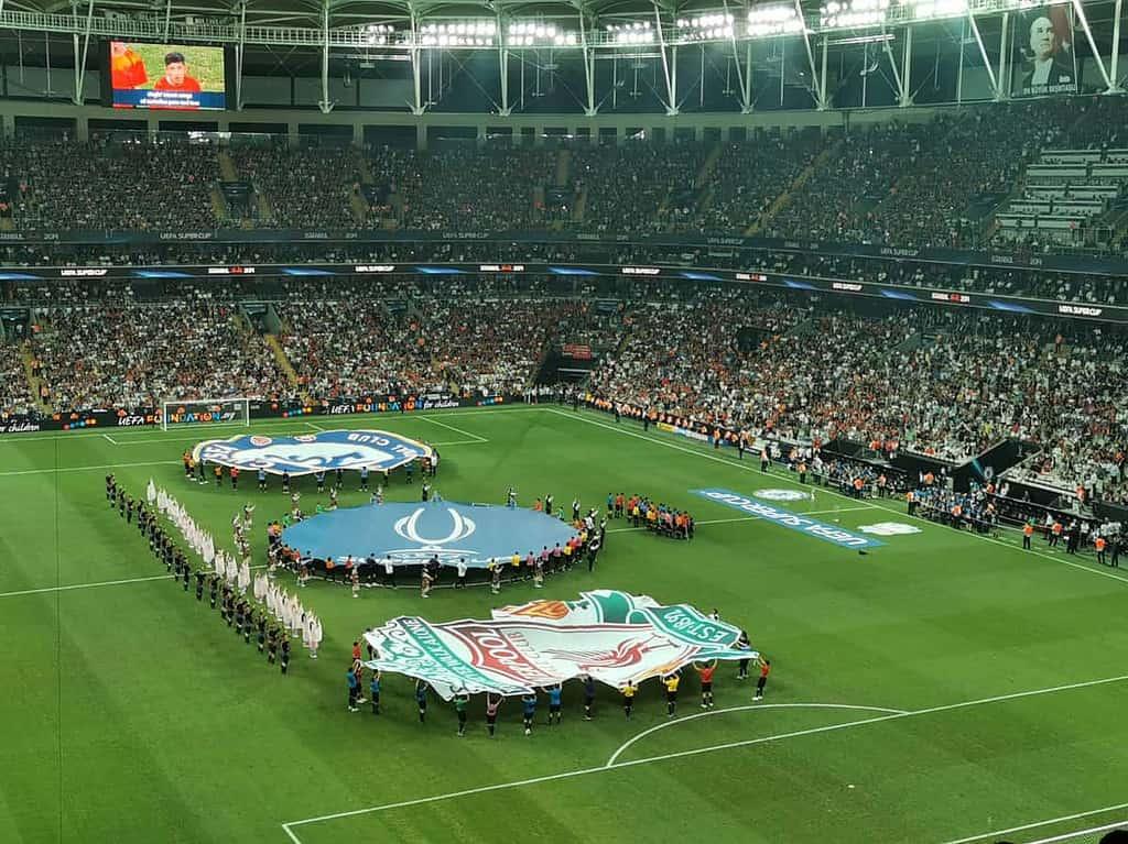 ไปดูบอล ลิเวอร์พูล เชลซี uefa super cupอ