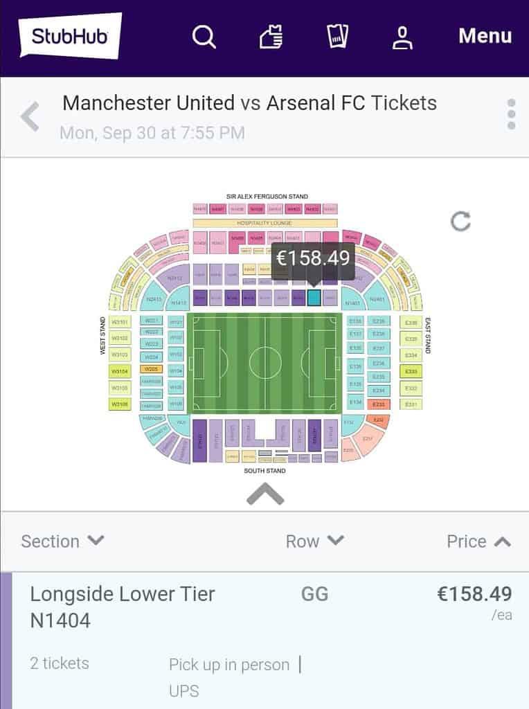 ซื้อตั๋วดูบอลอังกฤษ ตั๋วผี