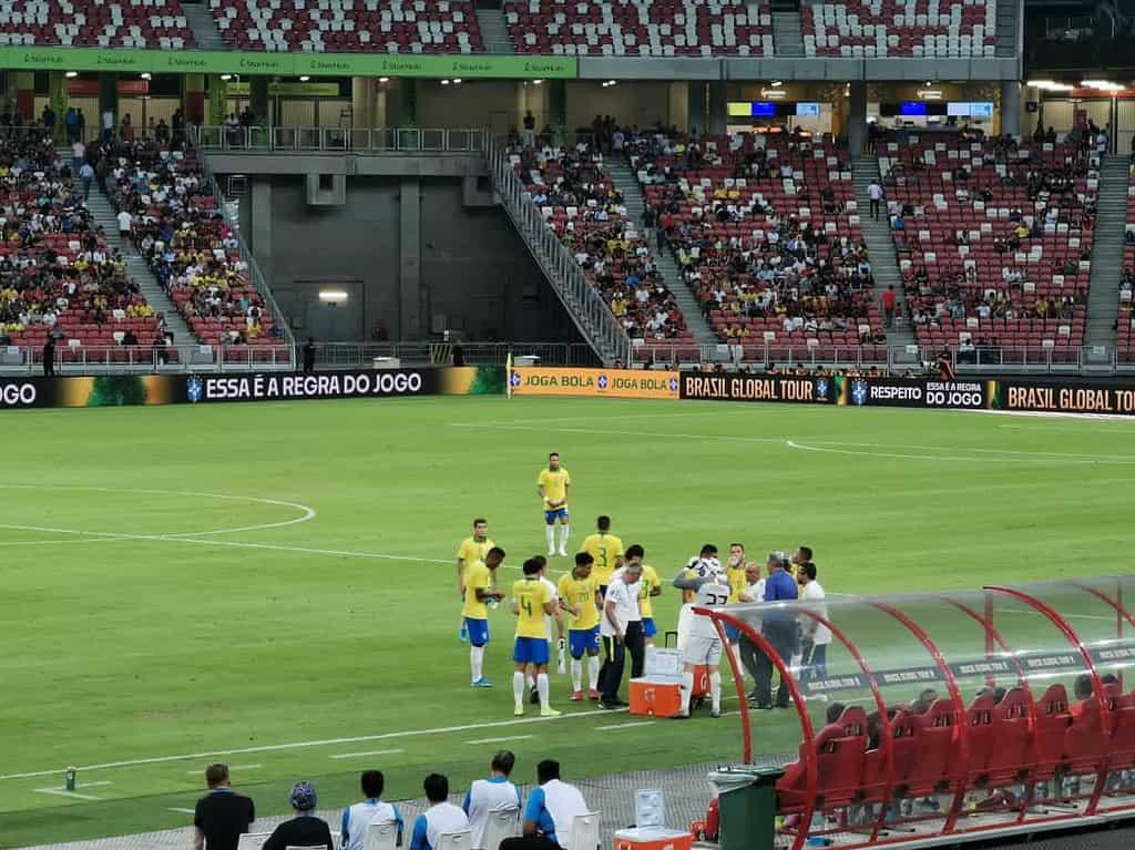 ไปดูบอล บราซิล เซเนกัล ที่สิงคโปร์