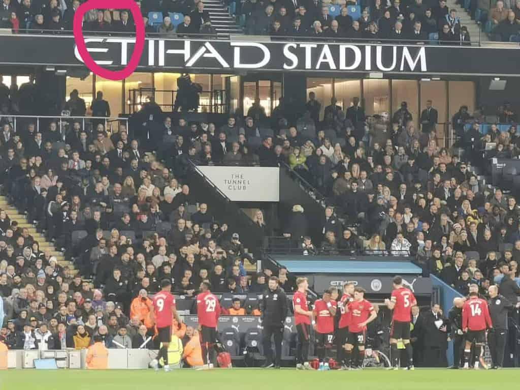 ดูฟุตบอลที่อังกฤษ แมนเชสเตอร์ดาร์บี้ ตั๋ว hospitality