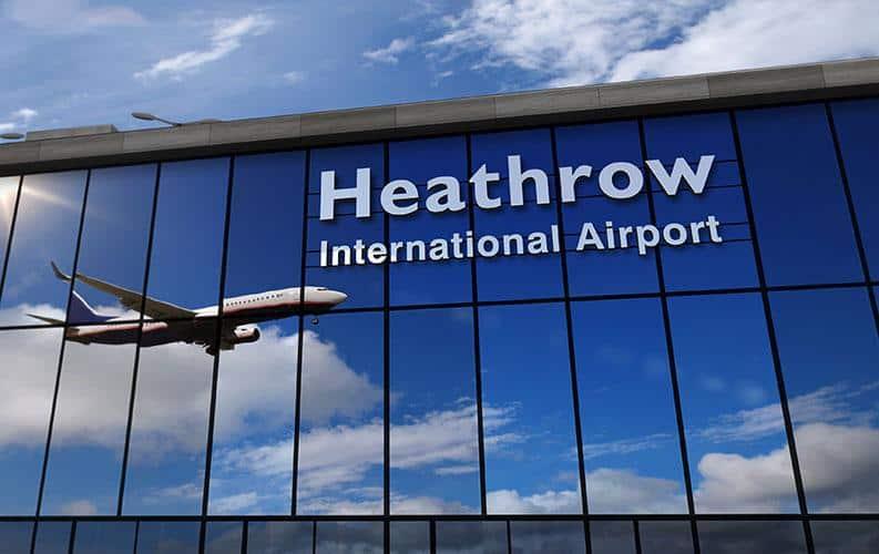 สนามบิน ฮีทโทรว์ ลอนดอน